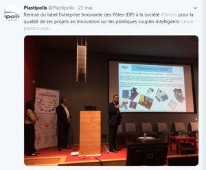 SIMON- Christophe BERTRAND, lauréat du Réseau Entreprendre